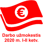 Darbo uzmokestis 2020 I-II