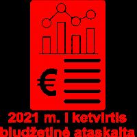 2021 biudzeto I
